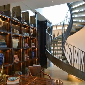 nowoczesne schody spiralne kute