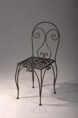 Krzesła kute